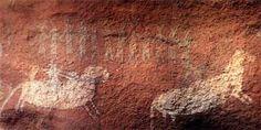 Obra: Arte Rupestre  Ubicacion: En la localidad de Cerro Colorado situada a 160 km al norte de la ciudad de Córdoba - Argentina. Información: http://www.artebaires.com.ar/palabras/cerro_colorado.htm