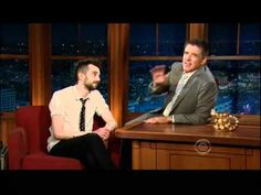 Craig Ferguson on the Late Late Show with my beloved Jay Baruchel ❤