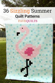 Shake up your quilting routine with these sizzling quilt patterns for summer! Panel Quilts, Quilt Blocks, Quilting Tips, Quilting Projects, Coastal Quilts, Beach Quilt, Quilt Storage, Summer Quilts, Easy Quilt Patterns