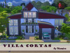 Villa Cortas by Thamira at TSR via Sims 4 Updates