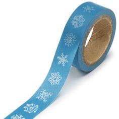 nice DARICE 1217-137 Washi Tape Roll, 5/8 by 315-Inch, Snowflakes