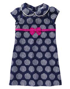 84e148f1 Apple Print Corduroy Dress at Gymboree Toddler Outfits, Kids Outfits,  Spring Outfits, Gymboree