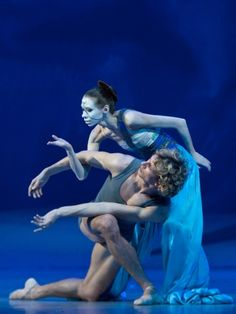 Anna Khamzina and Semyon Chudin in Neumeier's The Little Mermaid