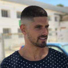 A buzz fade is a stylish way to wear very short hair for men. #menshairstyletrends #shorthaircutsformen #shorthairmen #shorthairstylesformen #menshair2018 #menshair #buzzcut #fade #highfade #javithebarber #veryshorthaircutsmen