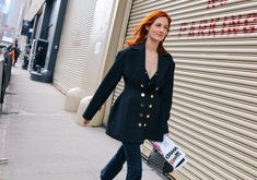 Taylor Tomasi Hill   Phil Oh's Best Street Style Pics From New York's Fall 2017 Shows.
