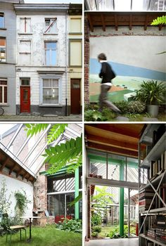 awesome modern hidden in old townhouse http://dornob.com/secret-rooms-cool-new-condo-hidden-in-old-townhouse/
