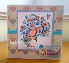 cutecrittercards.  bountiful in pink and blue.  Stamp name is Bountiful.