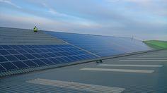 solar installation on a food manufacturer