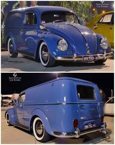 If I could have bought one of these, I wouldn't have had to modify a pt cruiser. Volkswagen Transporter, Volkswagen Bus, Vw T1, Vw Vintage, Vintage Trucks, Sp2 Vw, Kombi Trailer, Vw Wagon, Vw Pickup