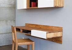 LAX Series Wall Mounted Desk & Shelf