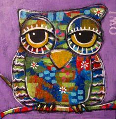 Owl by SUZAN BUCKNER