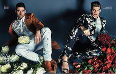 Chad White, Daan van der Deen & Henrik Fallenius are Shopaholics for Harpers Bazaar China