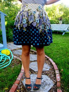 Gathered skirt tutorial