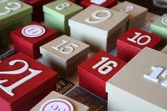 ChicDecó: Tu propio calendario de adviento: comienza la cuenta atrás