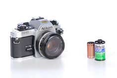 Vintage Nikon fg 20 SLR 35mm Camera With  1  18 f by midcentury8, $109.00