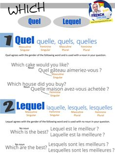 Asking Which in French: http://www.frenchspanishonline.com/magazine/2-ways-to-as-which-in-french/