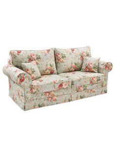 heine home - Sofa mit Hussenbezug mit Hussenbezug rosé im heine Online-Shop kaufen Unique Furniture, Furniture Decor, Compact Sofa Bed, Sofas, Floral Couch, Home Sofa, Heine Home, Buy Sofa, Custom Sofa