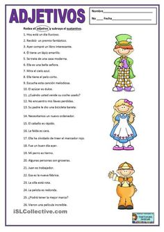 English PLE Adjetivos apostilas - Mais baixados Results) Spanish Grammar, Spanish Language Learning, Spanish Teacher, Spanish Classroom Activities, Spanish Teaching Resources, Portuguese Lessons, Learn Portuguese, Spanish Lesson Plans, Spanish Lessons
