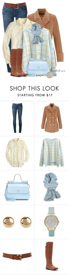"""Unbenannt #520"" by wulanizer ❤ liked on Polyvore featuring Wildfox, Warehouse, J.Crew, Chicnova Fashion, Dolce&Gabbana, canvas, Jules Smith, Olivia Burton, Karen Millen and Lucky Brand"