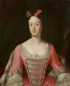 1725 Princess Wilhelmine of Prussia by Antoine Pesne