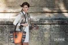 Per spezzare la monotonia cromatica della stagione fredda, ecco la nostra #borsa #lima dalle tinte accese e dal mood etnico. Chi lo dice che in inverno non si possa osare con i #colori?  #jadise #fallwinter20142015 #madeinitaly #borse #bags #cool #fashion #moda #colori #outfit #urban #etnico #lima