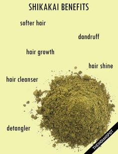 Natural herbs are considered best to use in hair care. One such herb that is widely used and gives extremely amazing result for hair is Shikakai. Shikakai has been used for skin and hair care from ancient times and its benefits are mentioned in ayurveda. Natural Hair Tips, Natural Hair Growth, Natural Herbs, Diy Hair Care, Hair Care Tips, Ayurveda Hair Care, Hair Cleanser, Dull Hair, Hair Health