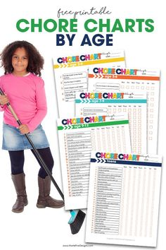 Need a chore chart for your kids? These free printable chore charts for kids are perfect for all ages. Chore Chart By Age, Daily Chore Charts, Free Printable Chore Charts, Chore Chart Kids, Free Printables, Chores For Kids By Age, Chore List For Kids, Age Appropriate Chores For Kids, Chore System