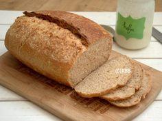 Brood bakken met kefir en spelt