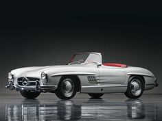 1957 Mercedes-Benz 300SL Roadster   The Don Davis Collection 2013   RM AUCTIONS - A girly car for me!