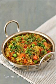 Baingan Bharta (Roasted, Mashed & Spiced Eggplant Curry)