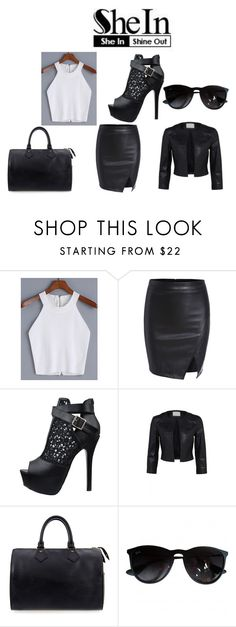 """""""Untitled #32"""" by bella105 on Polyvore featuring Louis Vuitton and Ray-Ban"""