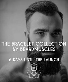 via @beardmuscles: The theme of the bracelets will be: LIONS!!Stay tuned! 6 days until the launch of the Official Bracelet Collection by Beardmuscles and our website! Sign up for our newsletter (link in bio) for a sneak peak of the collection