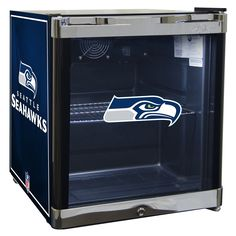 NFL Seattle Seahawks 1.8 Cubic Foot Refrigerated Beverage Center