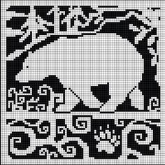 Afbeeldingsresultaat voor ice bear knitting pattern
