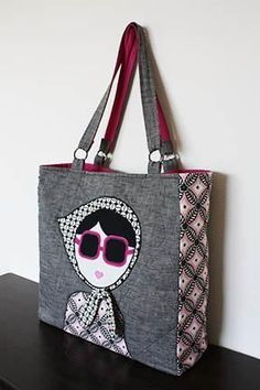 The Laura Tote – PDF + Handy Appliqué Techniques | PatternPile.com