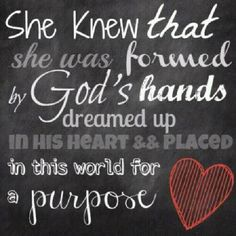 HE WILL REVEAL HIS PURPOSE TO ME IN DUE TIME, ALTHOUGH NOW I CANNOT COMPLETELY UNDERSTAND...I WILL WAIT UPON THE LORD.