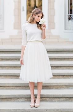 Jenny Yoo 'Lucy' Tulle Skirt Sold at Nordstrom $190