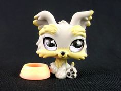 LITTLEST PET SHOP 883 Rare Yorkshire DOG with Glass Eyes Original LPS Toy in Toys & Games, Other Toys & Games | eBay