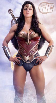 Wonder Woman Amazon Warrior by Jeffach.deviantart.com on @DeviantArt