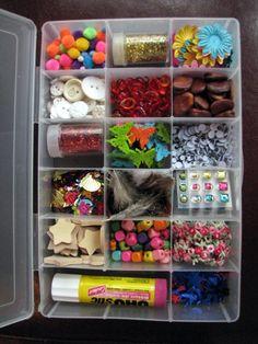 kid craft box