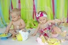 Heidi Hope Photography twin cake smash 3