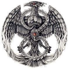 Phoenix Crest by Aerin-Kayne on DeviantArt Body Art Tattoos, New Tattoos, Cool Tattoos, Tatoos, Tattoo Son, Half Sleeve Tattoos For Guys, Phoenix Art, Phoenix Rising, Dark Phoenix