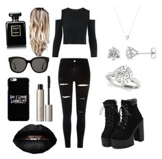 """""""Untitled #10"""" by rammgirll ❤ liked on Polyvore featuring Links of London, Gentle Monster, Ilia and Chanel"""