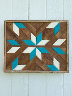 Reclaimed Wood Wall Art Wood Wall Decor Lath Art by PastReclaimed