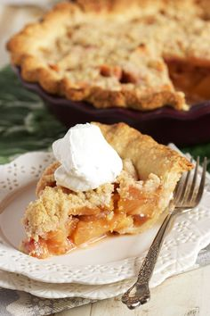 Ripe, juicy plums are the star in this easy Streusel Plum Pie recipe. The…