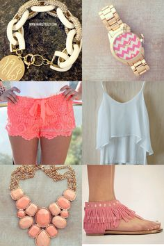 Summer preppy style but jack Rogers would look better