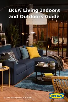 Refresh your space for relaxation this spring with the IKEA Living Indoors and Outdoors Guide.