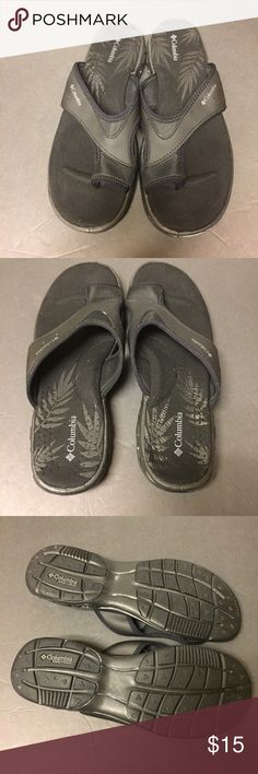 5c7060560745 Shop Men s Columbia Black size 10 Sandals   Flip-Flops at a discounted  price at Poshmark. Size Gently used
