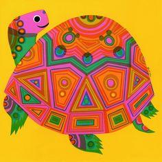"""david klein """"turtle"""", 1966"""