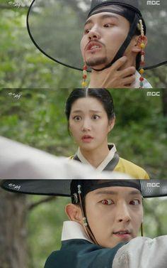 [Spoiler] Added episode 11 captures for the Korean drama 'Scholar Who Walks the Night' @ HanCinema